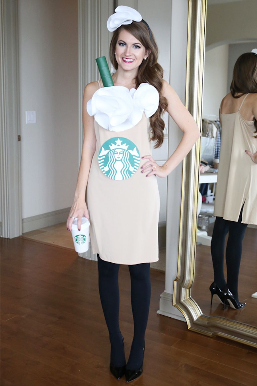 Starbucks Cup Halloween Costume For Adults