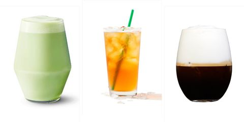 Healthy Starbucks Drinks 17 Starbucks Drinks Under 100 Calories