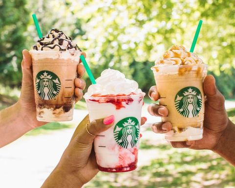 Starbucks Happy Hour: Half Off Frappuccinos July 25