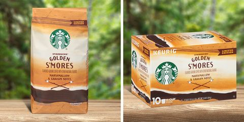 Starbucks Has Golden S'mores Coffee, So It's Like Brewing Dessert at Home