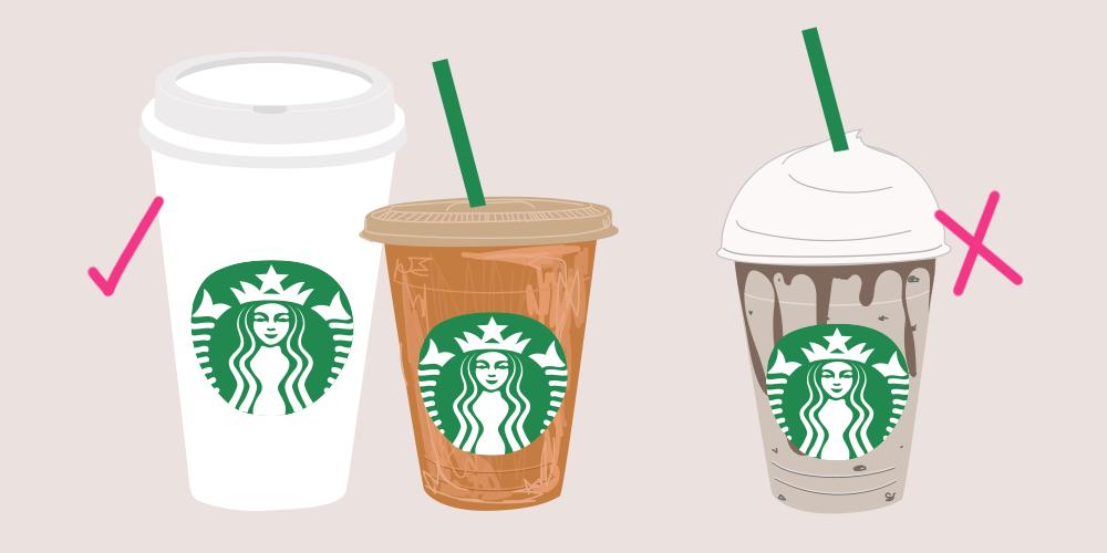 5 Healthiest Starbucks Drinks - Healthy