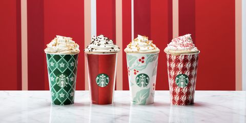 a25a0613144 Starbucks Releases 2018 Holiday Cups - Starbucks Christmas Red Cups ...