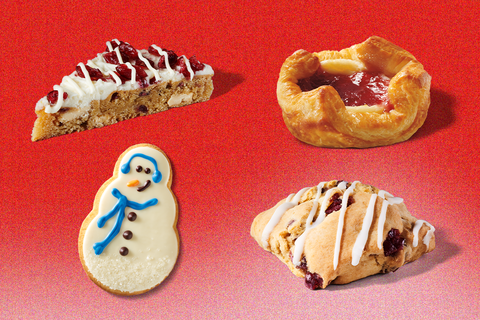 starbucks holiday food 2020
