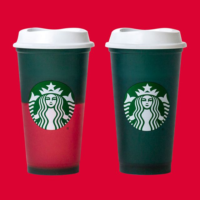 starbucks holiday color changing hot cup