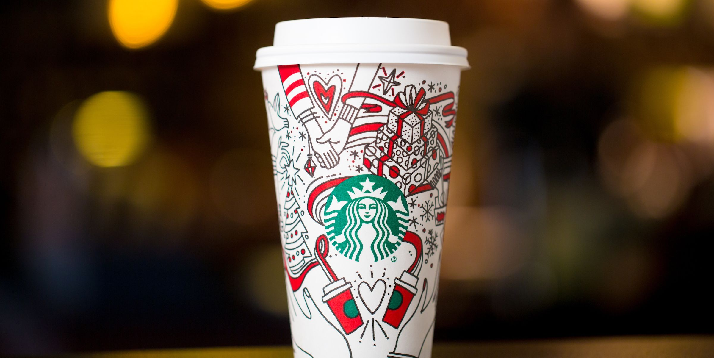 Image result for starbucks holiday cups 2017