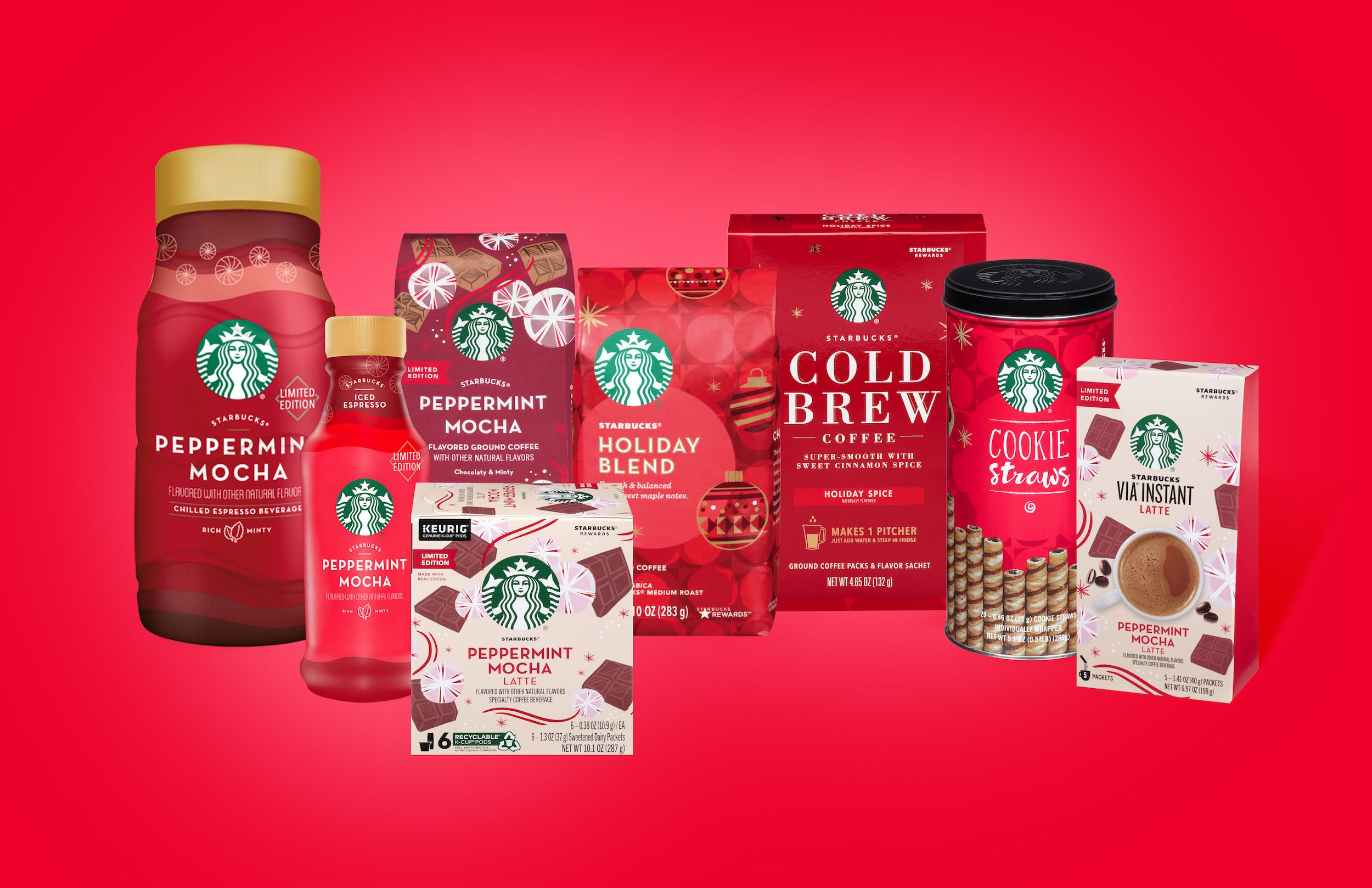 Starbucks Christmas Flavored Kcups 2021 Starbucks 2019 Holiday Blend K Cups And Coffees Are Back In Stores