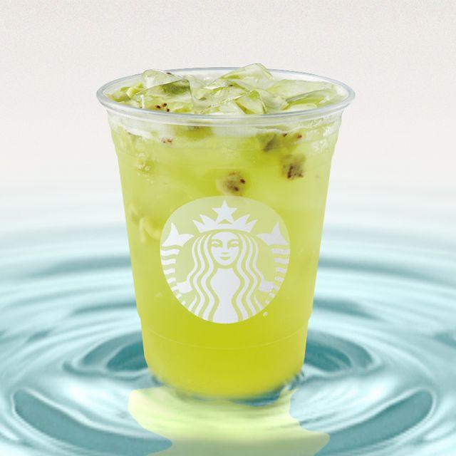 starbucks kiwi starfruit refreshers beverage