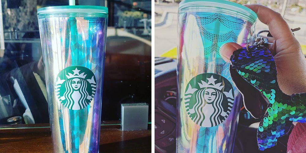 This New Starbucks Mermaid Tumbler Iridescent Under The Sea Dream