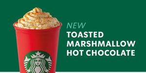 Starbucks Toasted Marshmallow Hot Chocolate