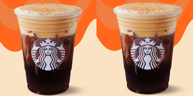 Starbucks Brings Back Pumpkin Cream Cold Brew
