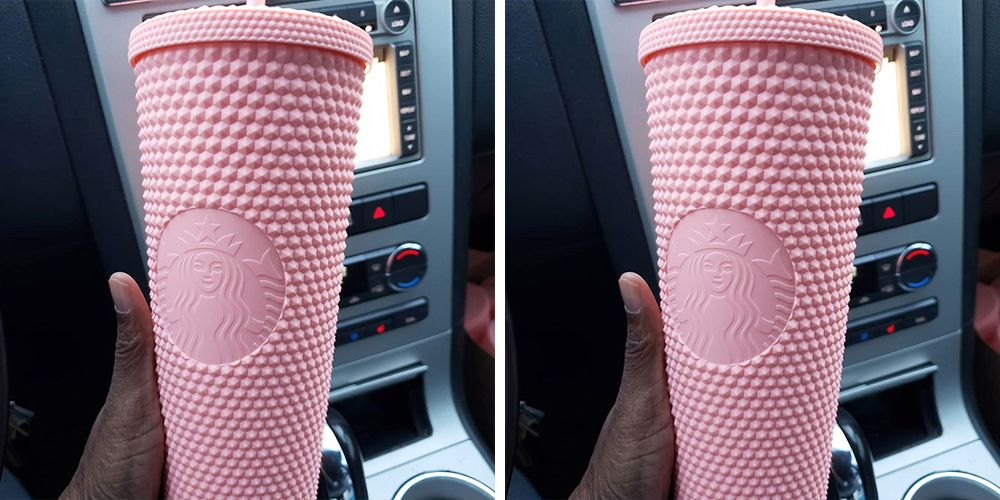 Starbucks New Studded Matte Pink Tumbler Will Be Glued To