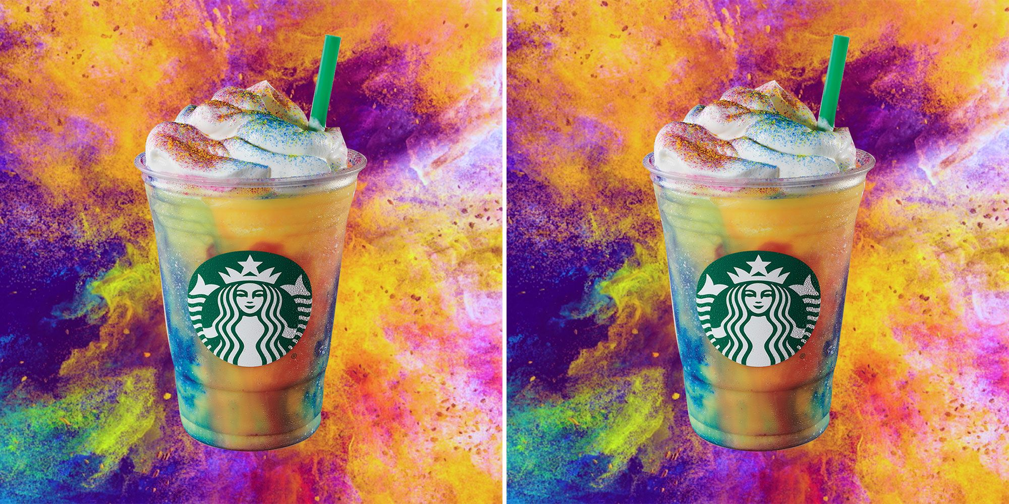 Starbucks Confirms Tie-Dye Frappuccinos Are Coming To Stores July 10