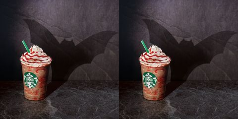 Starbucks UK are releasing a  Vampire Frappuccino to get you in the mood for Halloween