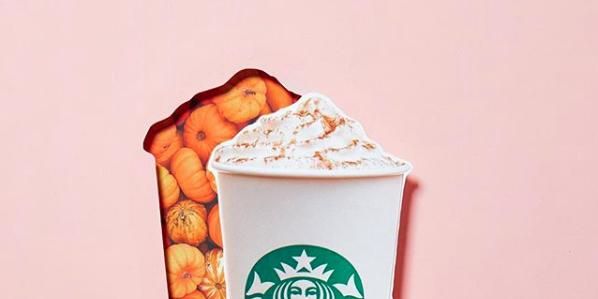 starbucks vegan pumpkin spice latte
