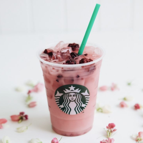 starbucks violet drink nutrition and calories - what's in the starbucks violet drink
