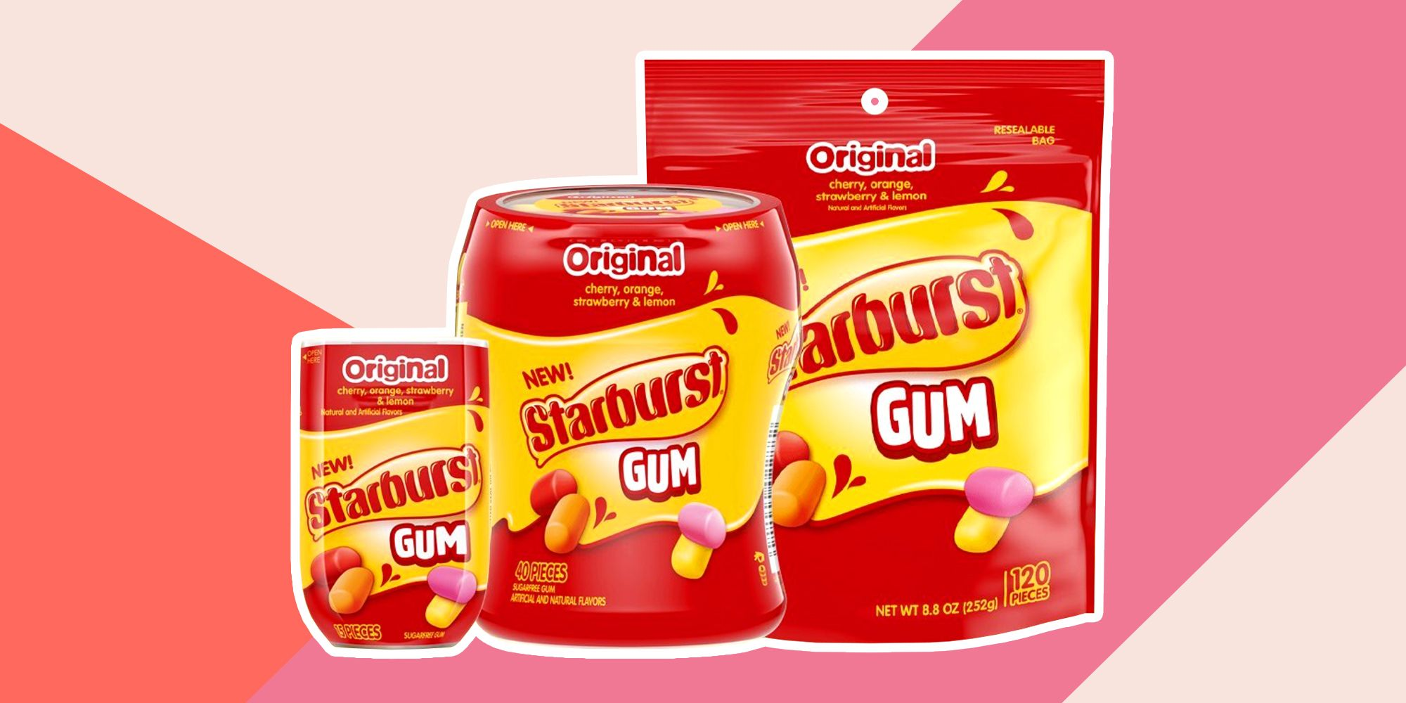 Starburst Gum Is Coming Next Year, and It's Like Never-Ending Candy