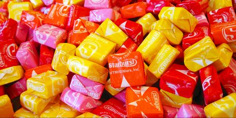 Colorfulness, Red, Orange, Confectionery, Sweetness, Plastic, Collection, Junk food,