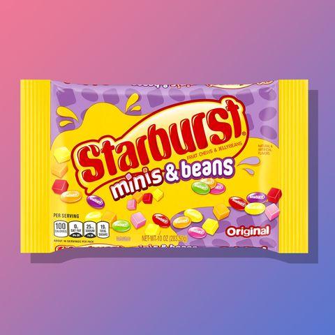 starburst minis beans