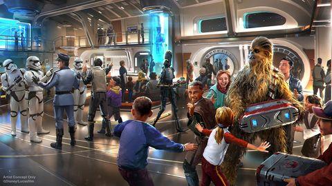 Fictional character, Chewbacca, Fur, Animation, Fiction, Hall, Machine, Drum,