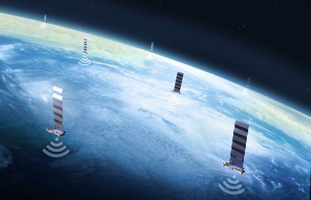 starlink satellites beam wifi to airplanes