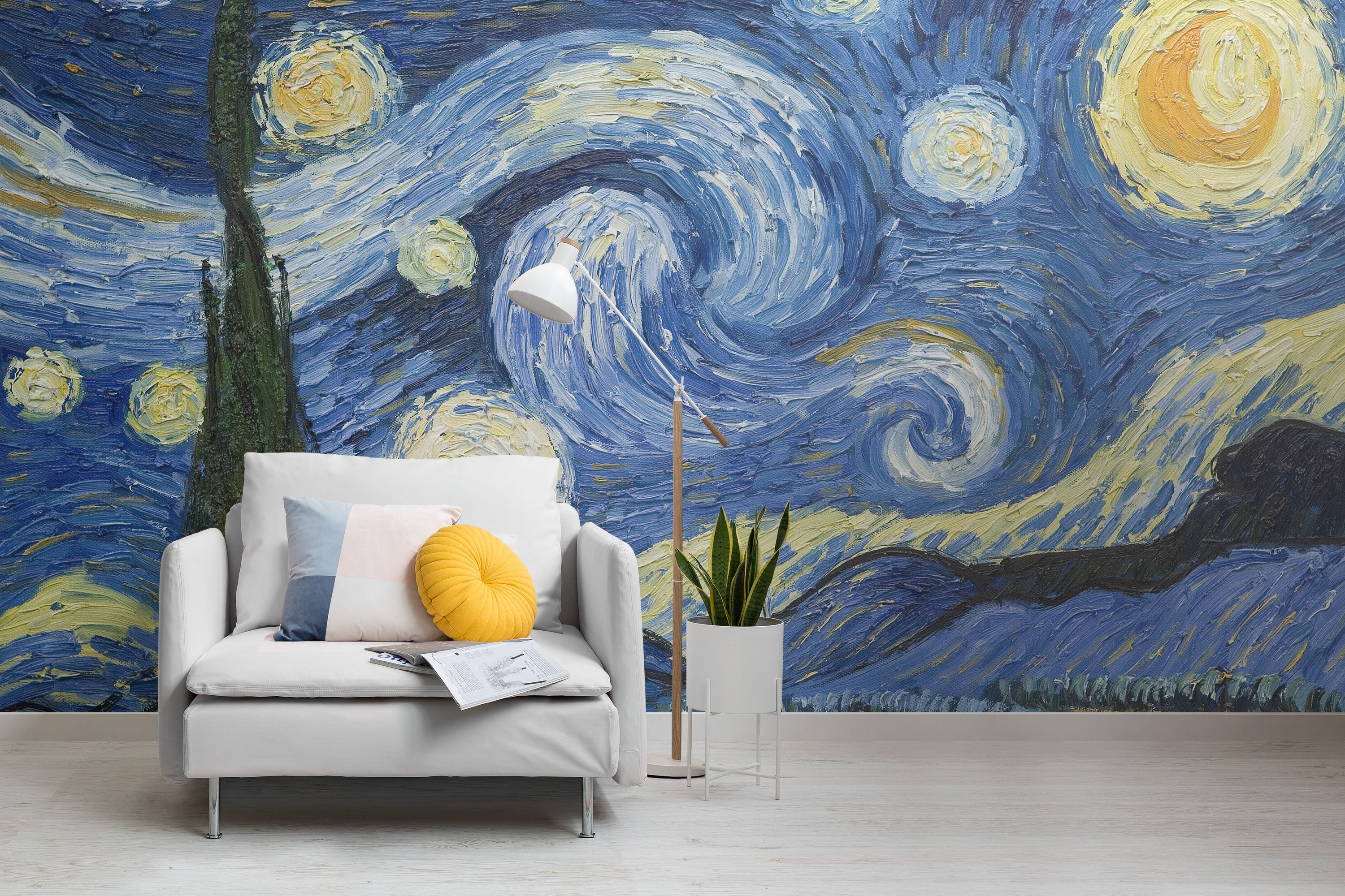 Van Gogh Paintings Now Available As Wallpaper Murals In