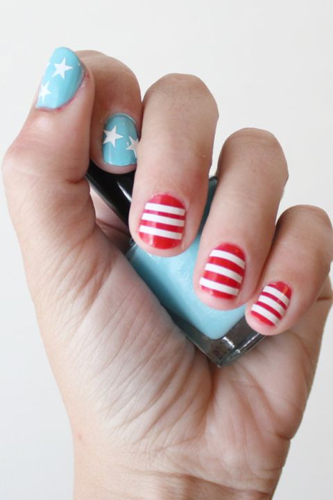 22 Best 4th of July Nail Art Designs - Cool Ideas for Patriotic ...