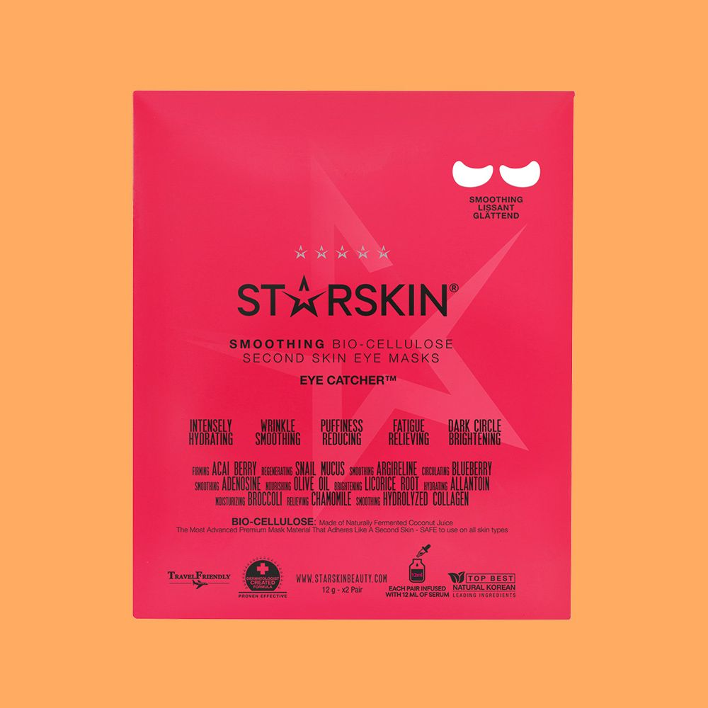 Starskin Eye Catcher Smoothing Coconut Bio-Cellulose Second Skin Eye Mask