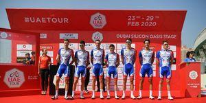 6th UAE Tour 2020, corona, bicycling