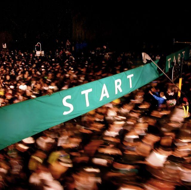 start of marathon