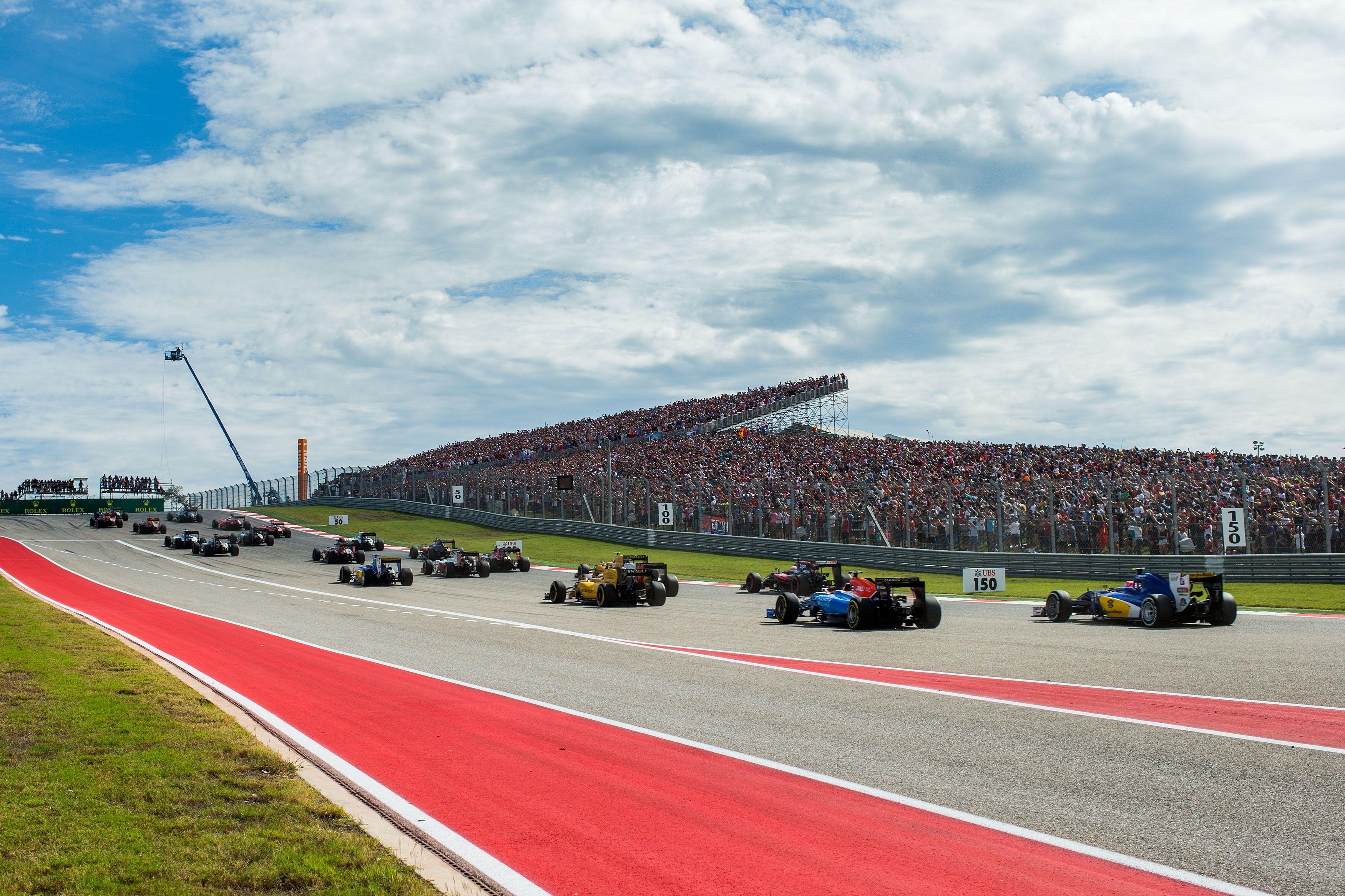 F1: Todo sobre el GP de Estados Unidos