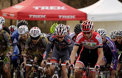 A cyclocross race.