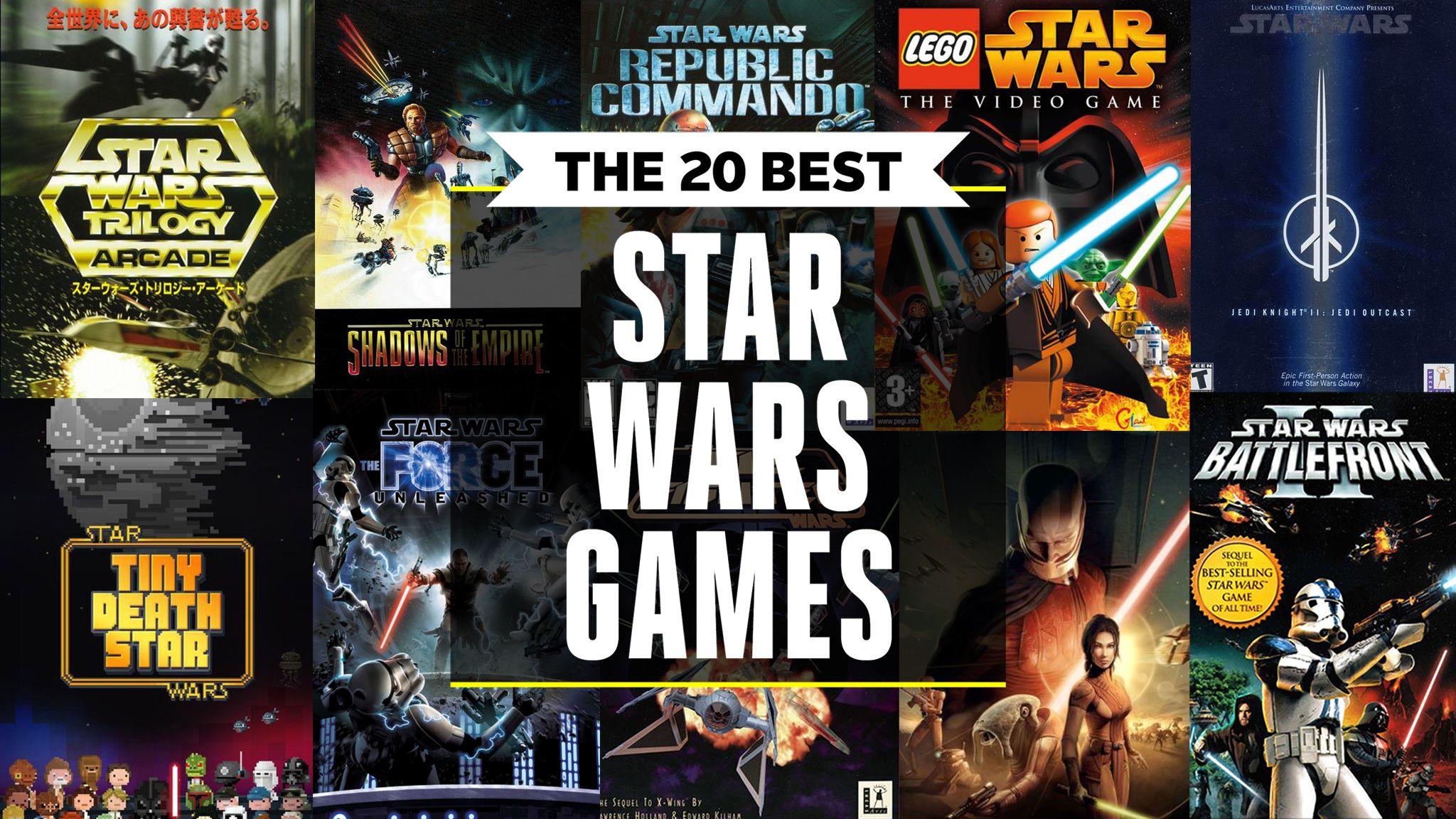 Best Star Wars Games 2019 - Star Wars Video Games