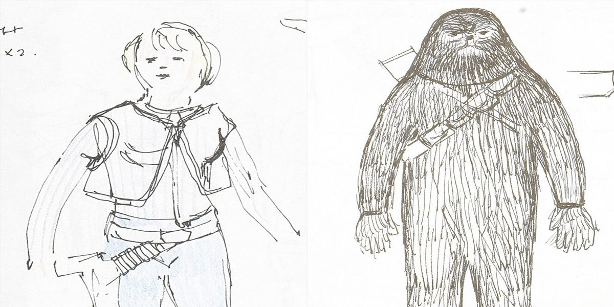 Original Star Wars Costume Sketches By John Mollo Are Being Auctioned for $300,0...