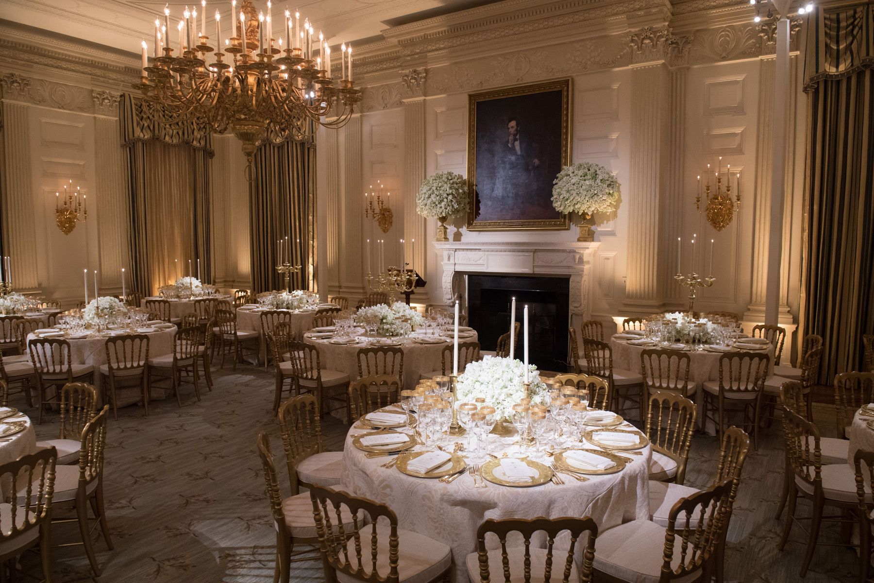 A Look Inside the Stunning State Dinner at the White House