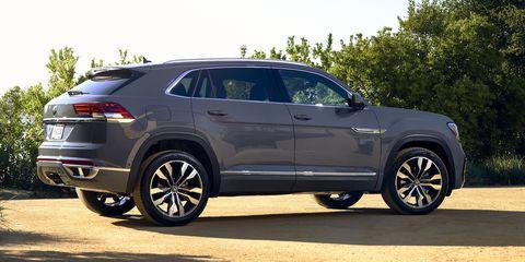 Volkswagen S Five Seat Atlas Cross Sport Coming To American