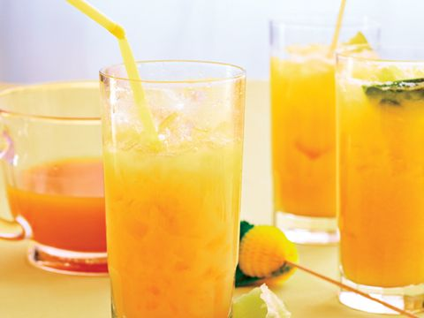 Passion Fruit-Pineapple Punch