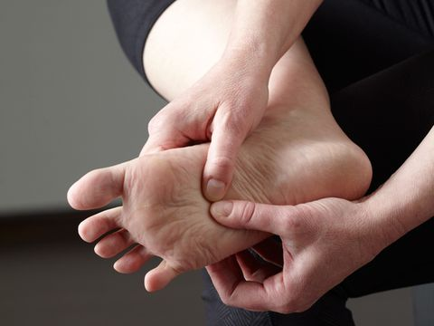 Foot Pain and Foot Fungus: Foot cramping