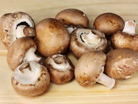2. Toss mushrooms into soup
