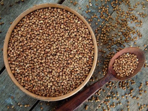 Gluten-free grain: buckwheat
