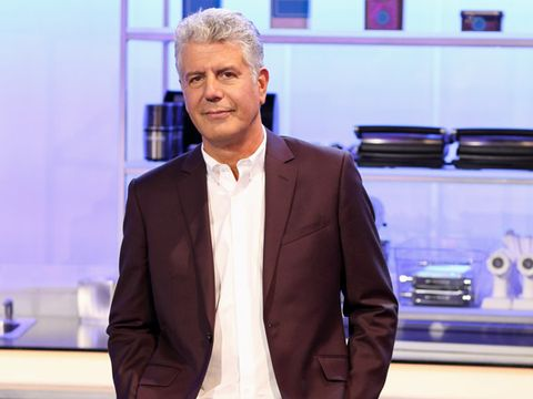 40. Anthony Bourdain, 57