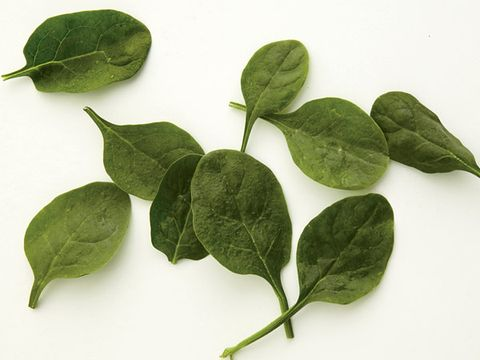 Superfood: baby spinach