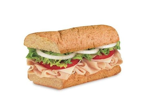 Blimpie: Turkey and Provolone Sandwich