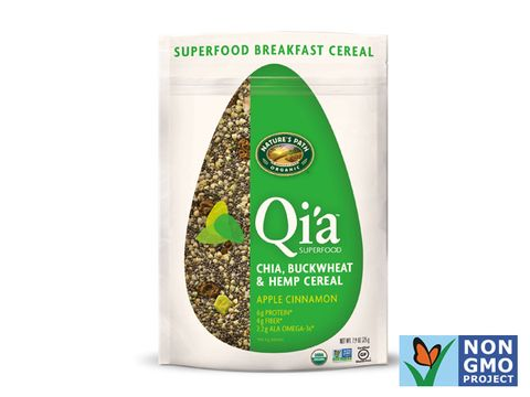 Nature's Path Qi'a Superfood: chia, buckwheat, & hemp cereal