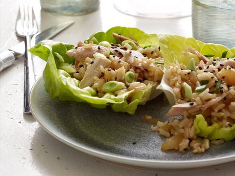 Monday: Chicken Lettuce Cups