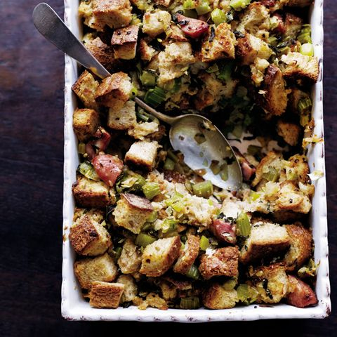 Whole Grain Stuffing with Sausage