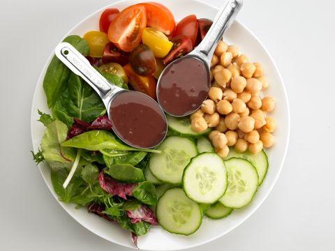 Salad again?