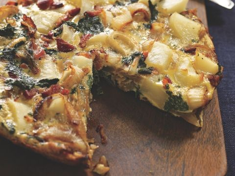 Potato and Greens Frittata