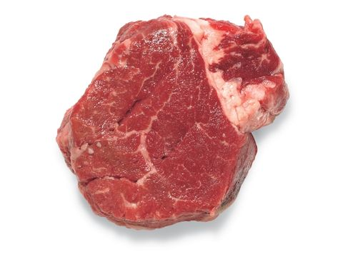 "4. That expensive filet may be ""glued"" together scraps"