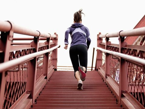 The Do-Anywhere Leg and Buns Stair Workout