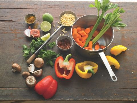 Myth: Vegetarian diets make your body more alkaline